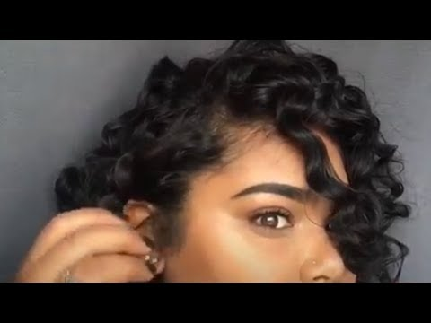 HOW TO STYLE FLEXIROD / Heatless CURLS !