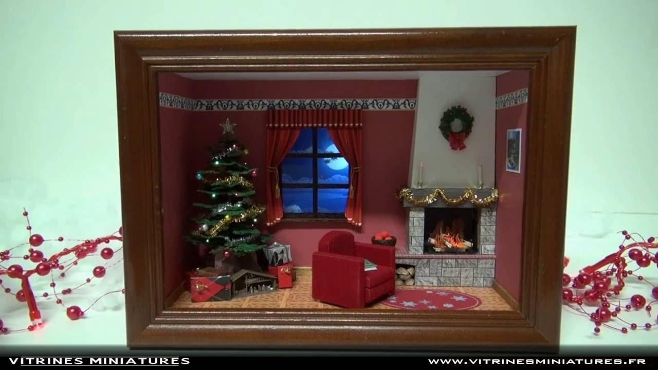 Image Vitrine Noel.Vitrine Miniature De Noel