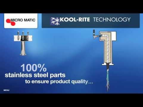 Learn About Kool Rite Beer Tower Technology   MicroMatic.com