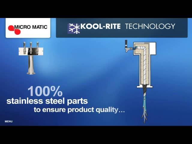 Learn about Kool Rite Beer Tower Technology | MicroMatic.com