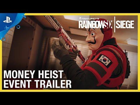 Rainbow Six Siege - Money Heist Event | PS4