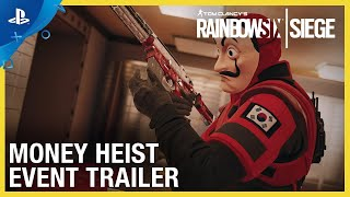 Rainbow Six Siege - Money Heist Event | PS4