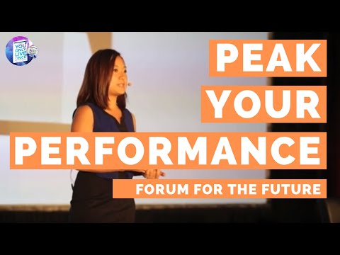 Forum for the Future - 3 Practical Steps to Peak Performance with Ying Han Cheng