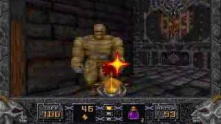 Heretic (DOS) - Game Play
