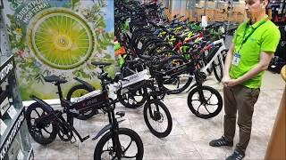 Электровелосипед KJing Power Велогибрид складной городской двухподвес Новинка 2020 Обзор Voltreco ru