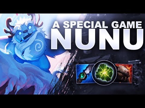 A SPECIAL GAME ON NUNU - OffRole To Diamond | League Of Legends