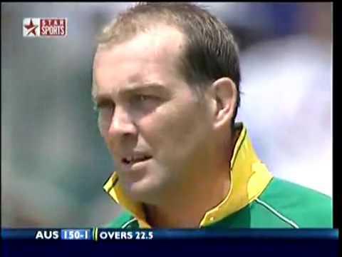 The World Record 438 Match South Africa vs Australia  part 1 Australia batting