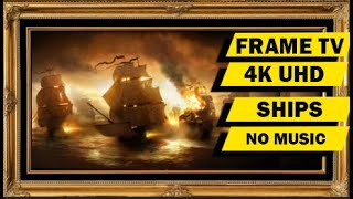 3Hrs Framed Art Paintings Screensaver in 3D for 4K and HD screen ( No Music )