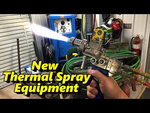 Eutectic TeroDyn 2000 Thermal Spray Equipment, Mount & First Use
