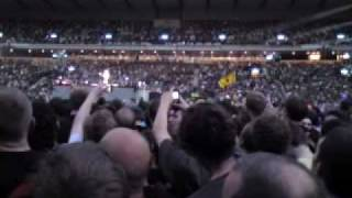 Angus Young guitar solo during Let There Be Rock, AC/DC, Hampden Park, Glasgow 09