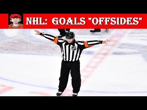 """NHL Goals """"Offsides"""""""