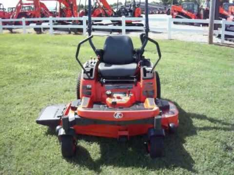 KUBOTA ZG227 ZERO TURN MOWER YouTube