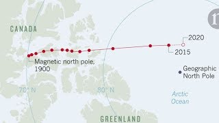 Severni Magnetni Pol Se Pomera Nenormalnom Brzinom