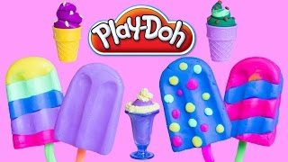 PLAY DOH ICE CREAM Surprise Eggs Minnie Mouse Lalaloopsy Toys Baby Surprise