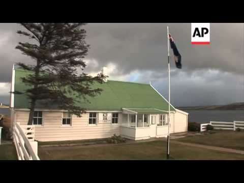 Vandals attack Argentina's war cemetery in the Falkland Islands