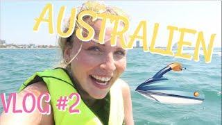 ICH ESSE POPEL? | KRASSE JET SKI TOUR 😱? |AUSTRALIEN VLOG 2