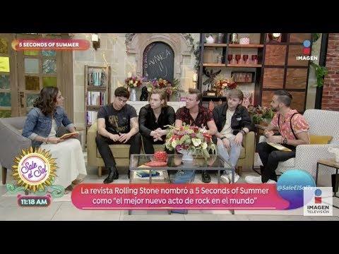 ¡5 Seconds of Summer en Sale el Sol! | Sale el Sol