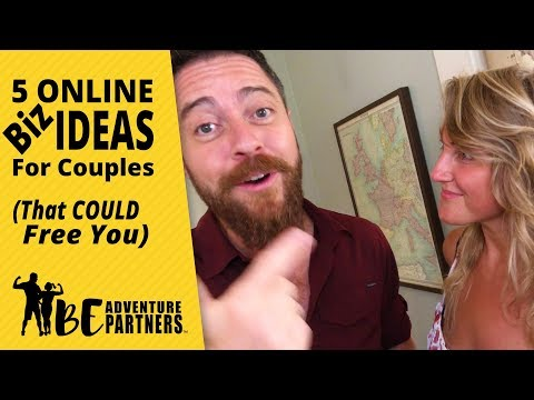 5 Online Business Ideas For Couples (That Could Free You)