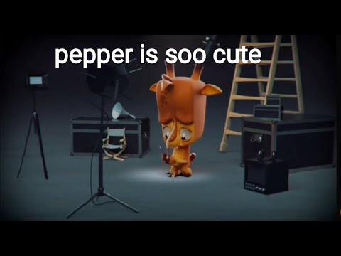 Pepper is cute or cutest in Zooba animation