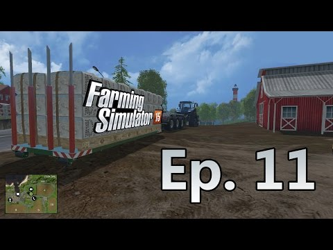 Let's Play Farming Simulator 15 | Ep. 11 - Selling Straw