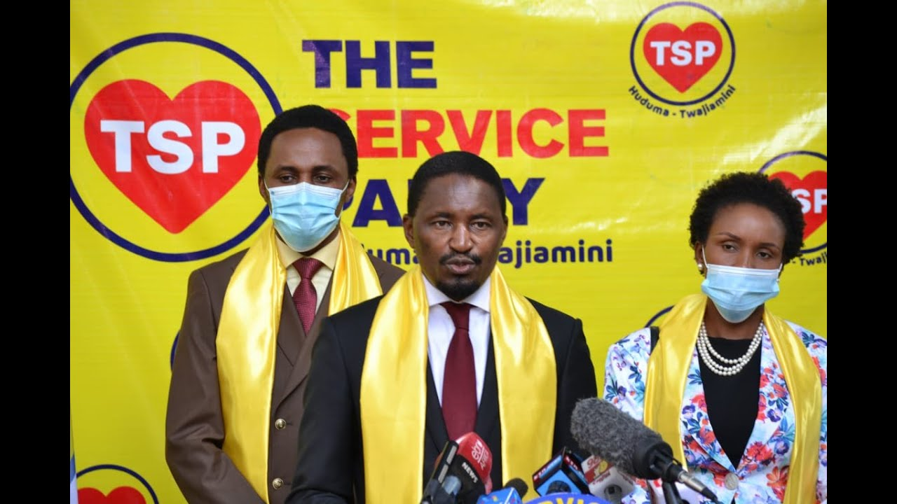 Kiunjuri Unveils 'The Service Party' after Losing Cabinet Post