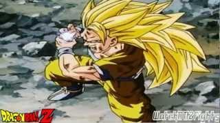 Goku's Kamehameha Against Kid Buu