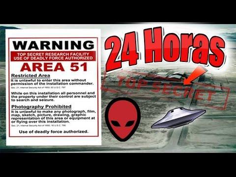 24 HORAS EN EL AREA 51 RETO TERMINA MAL!! (HotSpanish Vlogs)