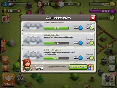 Clash Of Clans HACK!!! 99999999 Gems!!!