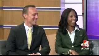 Rep. Mia Love/Husband Jason Love on their experience in public life KTVX 09/27/2015