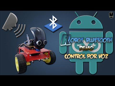Increible robot basado en Arduino y controlado por la voz
