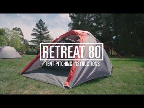 How To Pitch A Kathmandu Retreat 80 Tent