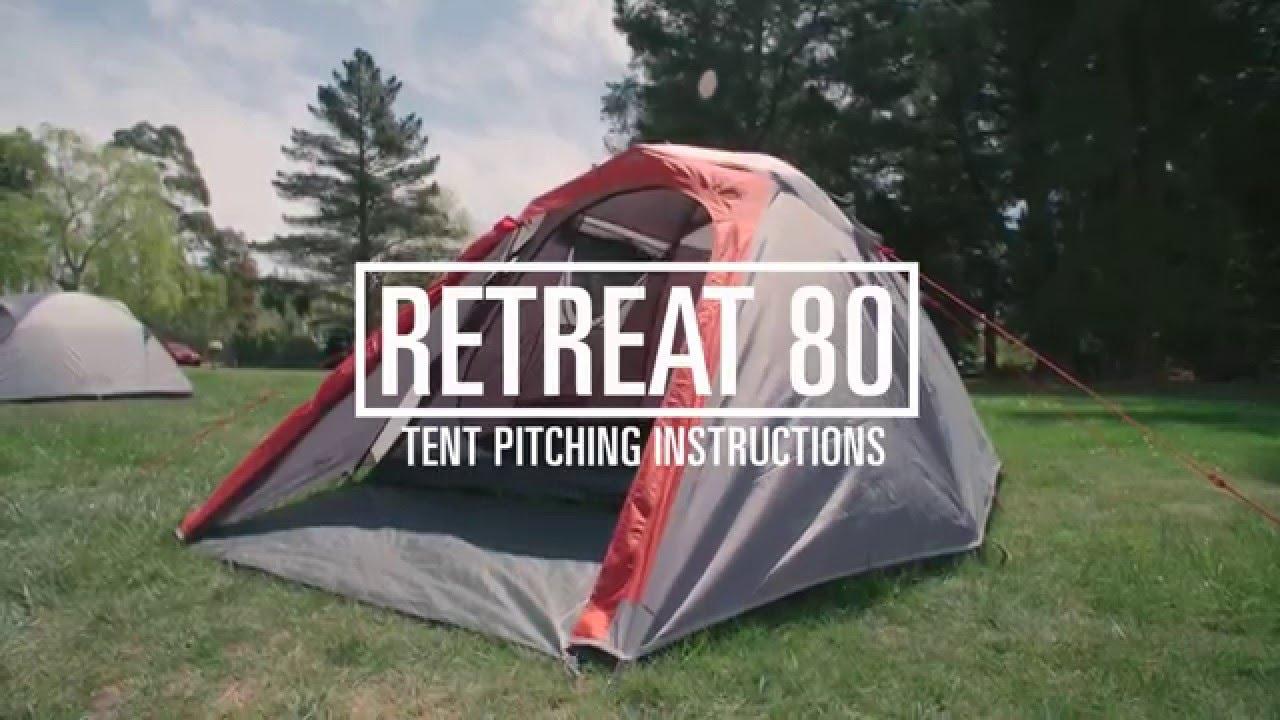 & How to Pitch a Kathmandu Retreat 80 Tent - YouTube