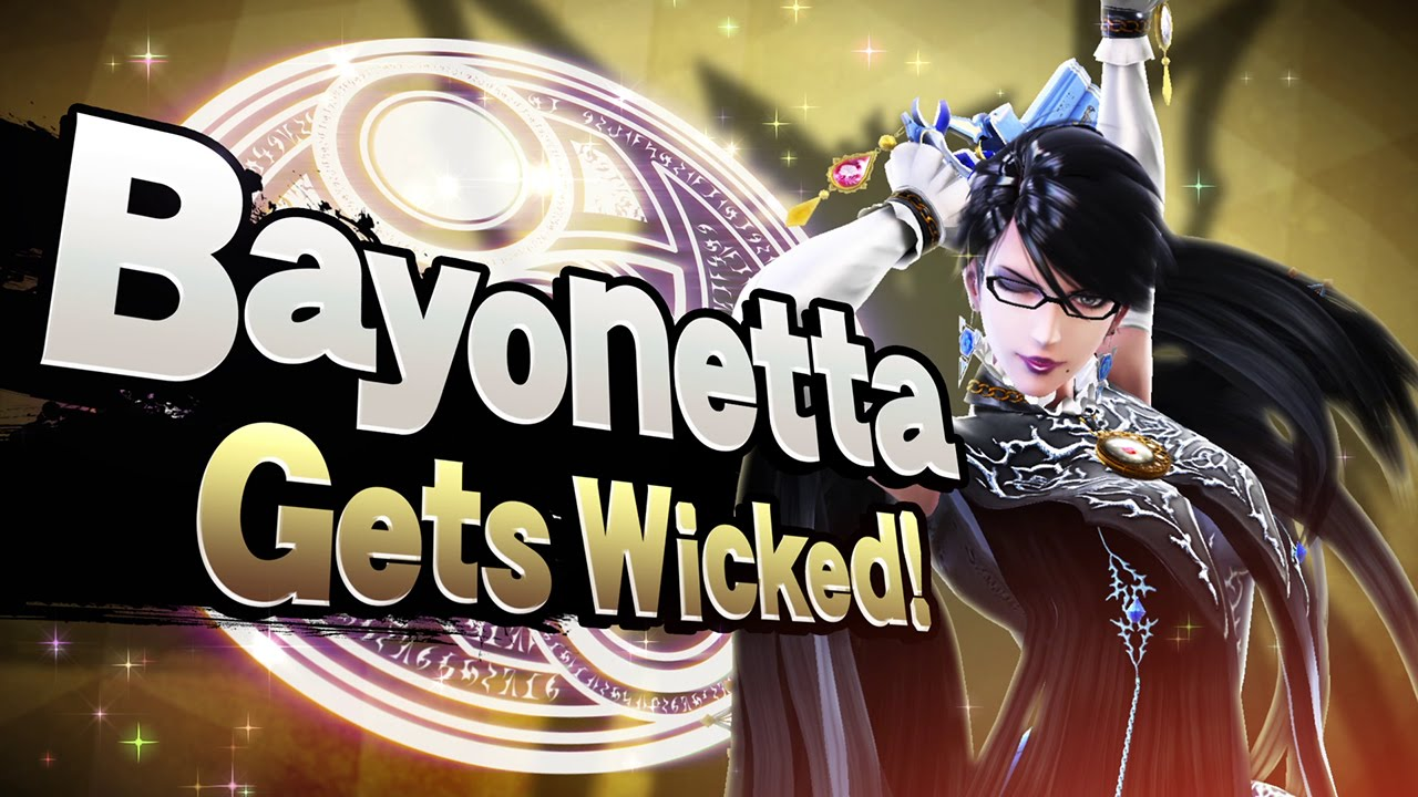 Play as Cloud in 'Super Smash Bros ' today, Bayonetta later