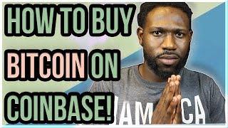 How To Buy Bitcoin On Coinbase