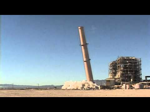 Mohave Generating Station (MGS) Exhaust Stack Implosion