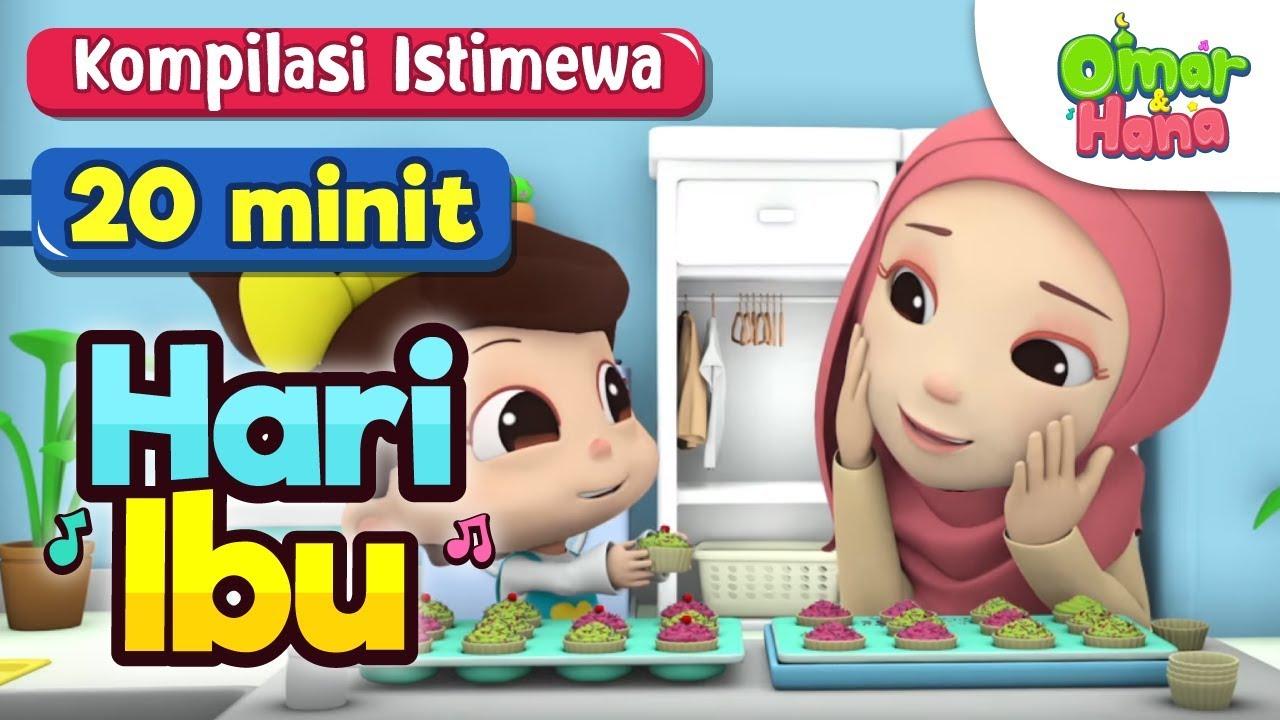 78 Gambar Kartun Muslimah Hari Ibu HD Terbaru