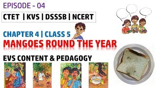 EP- 4 | Mangoes Round The Year | EVS Content and Pedagogy for Class 5 Chapter 4 | CTET KVS DSSSB