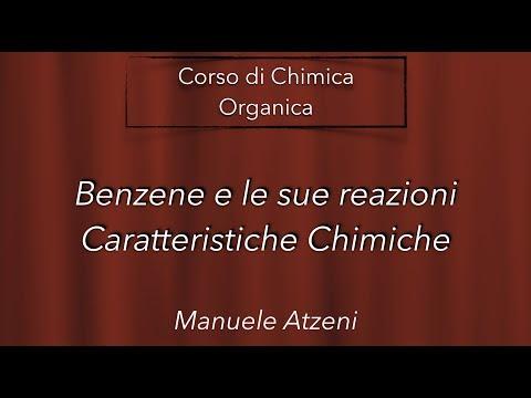 Chimica organica (Caratteristiche chimiche del benzene) L63
