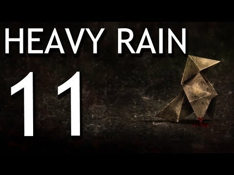 Heavy Rain: Anniversary Run pt11 - The First Real Detective Work