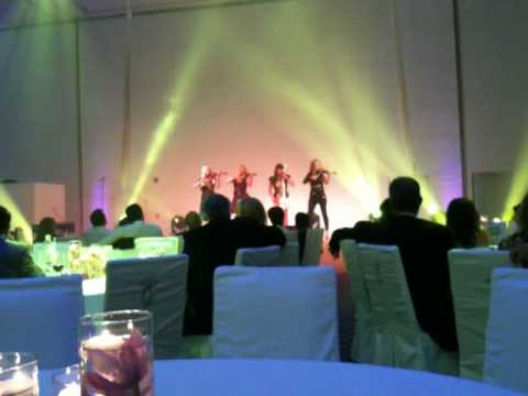 """Bond"" quartet at Abu Dhabi Media Company launch of ""Classic FM"" 2"
