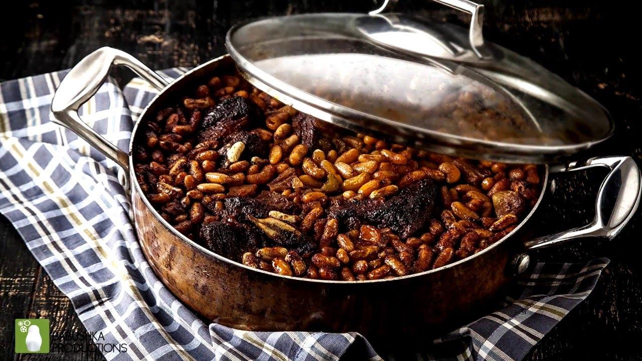 מתכוני סוגת: תבשיל בשר עם שעועית וירקות שורש