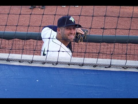 9 yr old covers the Columbia, SC, Fireflies Opener w Tim Tebow