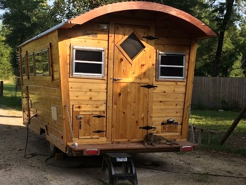 Building a Gypsy Wagon - NOW (Tiny House, RV, Vardo, Travel Trailer)