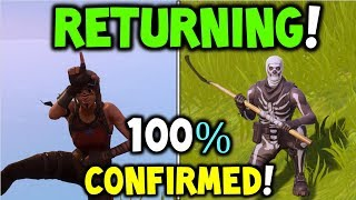 *NEW* SKULL TROOPER + RENEGADE RAIDER RETURNING TO FORTNITE (100% CONFIRMED By EPIC Support) OG SKIN