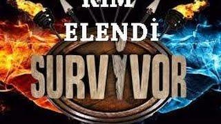 Survivor kim elendi 6 Mayıs 2015