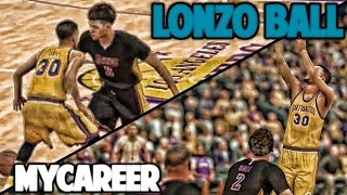 LONZO AT THE BUZZER - NBA 2K17 LONZO BALL MyCareer