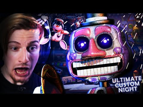 THE SCARIEST ANIMATRONIC.. (+ 30/20 Mode Win) || FNAF: Ultimate Custom Night