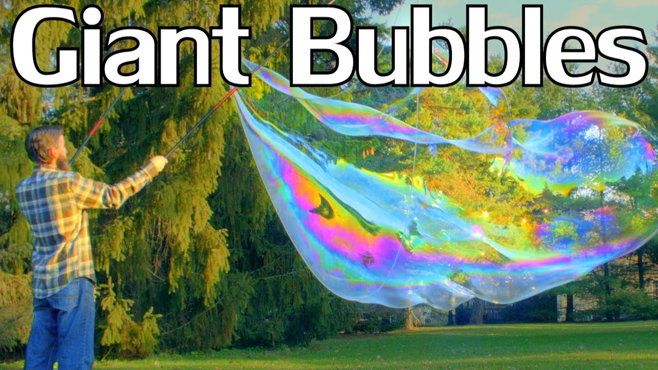 giant bubble recipe guar gum