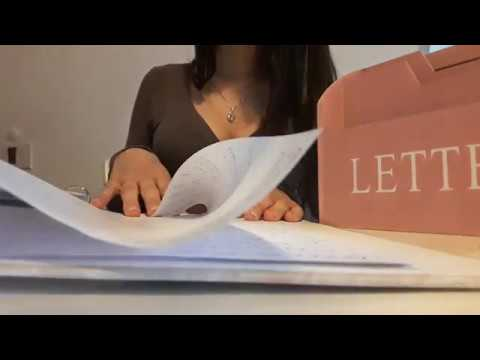 ASMR MIX  💋Secretary Roleplay: Typing, Paper sorting, Clicking, Tapping... asmr Love! 💜🎧