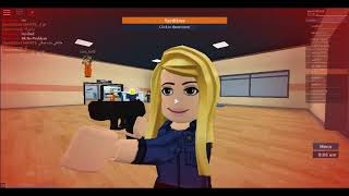 playing prison life in roblox